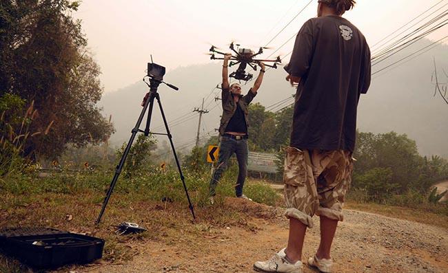 HIRE DRONE THAILAND  RENT DRONE BANGKOK BANGKOK FILMMAKERS FILM SERVICE THAILAND
