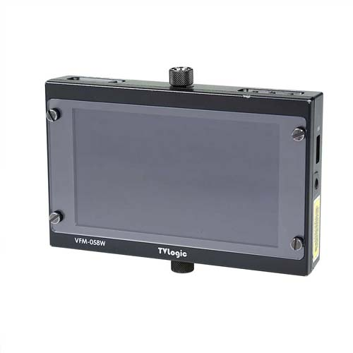 "VFM-058W, the lightweight viewfinder monitor, offers an outstanding picture quality with 5.5"" LCD Bangkok"
